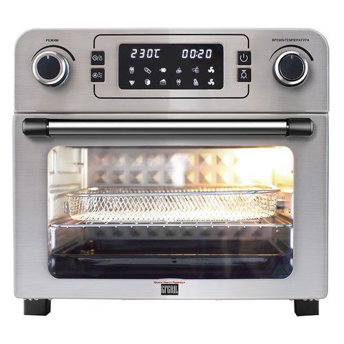 Фото - Мини-печь GFGRIL GFAO-700, серебристый мини печь gfgril gfao 500 коричневый