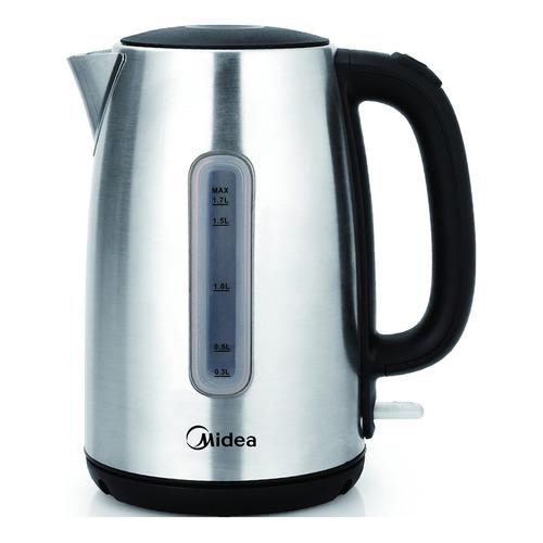 Чайник электрический MIDEA MK-8028, 2200Вт, серебристый чайник электрический midea mk 8060 2200вт темно фиолетовый