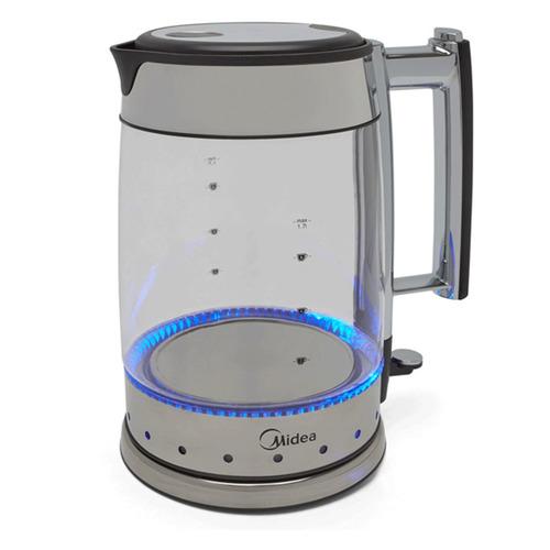 Чайник электрический MIDEA MK-8004, 2200Вт, серебристый чайник электрический midea mk 8060 2200вт темно фиолетовый