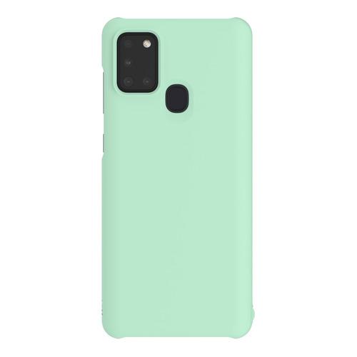 Чехол (клип-кейс) SAMSUNG WITS Premium Hard Case, для Samsung Galaxy A21s, мятный [gp-fpa217wsamr]  - купить со скидкой