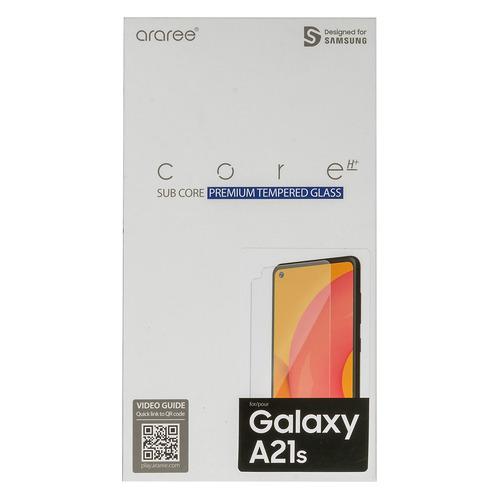 Защитное стекло для экрана SAMSUNG araree by KDLAB для Samsung Galaxy A21s, прозрачная, 1 шт [gp-tta217kdatr]  - купить со скидкой