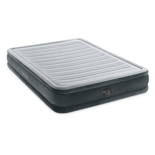 Кровать надувная INTEX Comfort-Plush, с насосом, 2030х1520 мм, высота 330мм [67770]