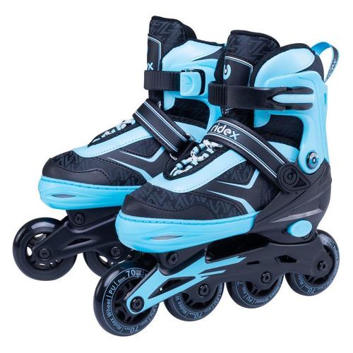 Коньки роликовые Ridex Area ABEC 7 кол.:70мм р.:34-37 синий (УТ-00016158) роликовые коньки