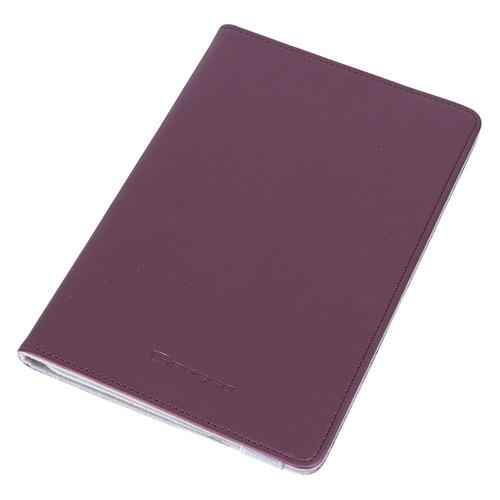 Чехол для планшета GRESSO Прайм, для планшетов 7-8, бордовый [gr15prm033]