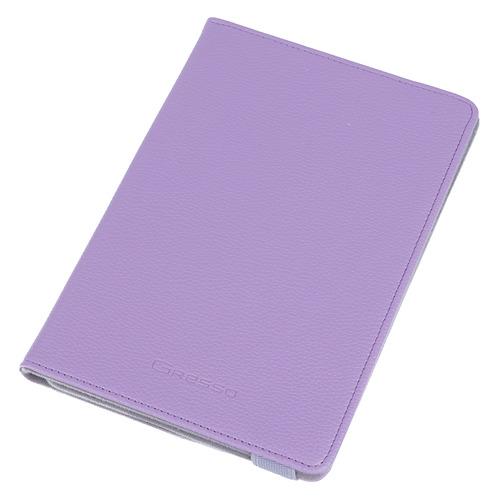 Чехол для планшета GRESSO Прайм, для планшетов 7-8, сиреневый [gr15prm008]