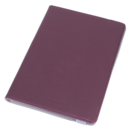 Чехол для планшета GRESSO Прайм, для планшетов 9-10, бордовый [gr15prm035]