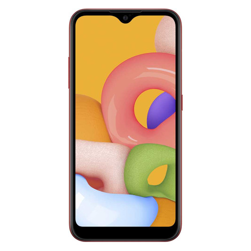 Смартфон SAMSUNG Galaxy M01 32Gb, SM-M015F, красный