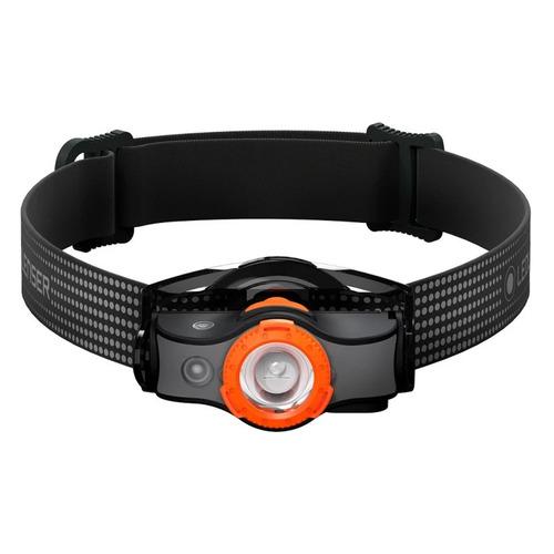 Налобный фонарь LED LENSER MH3, черный / оранжевый [502148]