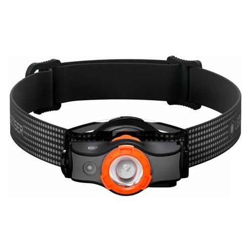 Налобный фонарь LED LENSER MH5, черный / оранжевый [502143]