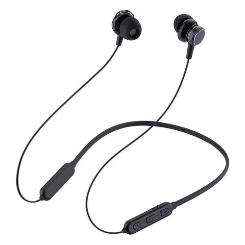 Наушники с микрофоном DEPPA XNeck Band, Bluetooth, вкладыши, черный [44166]