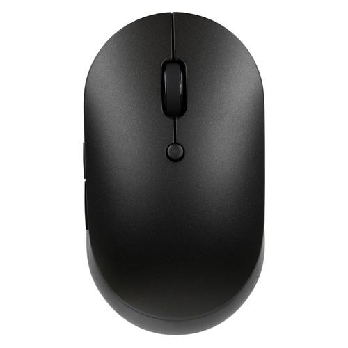 Мышь XIAOMI Mi Dual Mode Silent Edition, оптическая, беспроводная, черный [hlk4041gl]