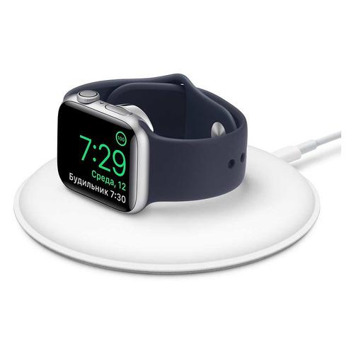 Зарядная док-станция Apple MU9F2ZE/A для Apple Watch Series 3/4/5 белый