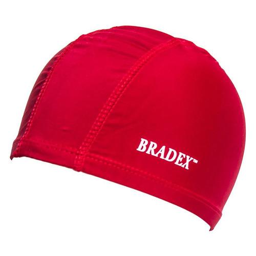 Шапочка для плавания Bradex SF 0358 полиамид красный bradex шапочка для плавания bradex полиамид синий