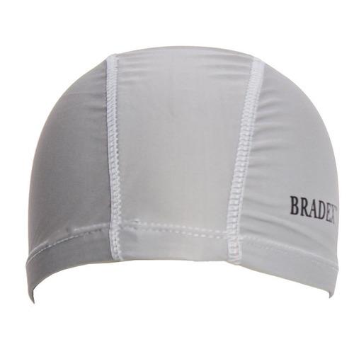 Шапочка для плавания Bradex SF 0359 полиамид серый bradex шапочка для плавания bradex полиамид синий