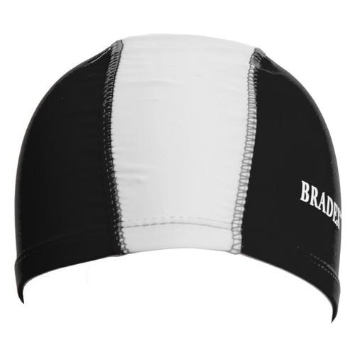 Шапочка для плавания Bradex SF 0360 полиамид черный/серый bradex шапочка для плавания bradex полиамид синий