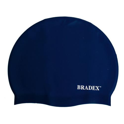 Шапочка для плавания Bradex SF 0327 силикон синий bradex шапочка для плавания bradex полиамид синий