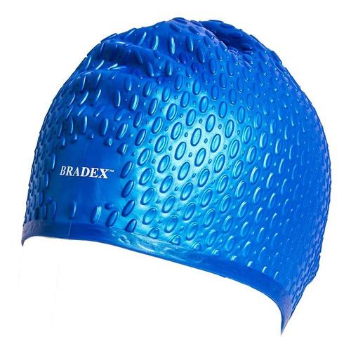 Шапочка для плавания Bradex SF 0340 силикон синий