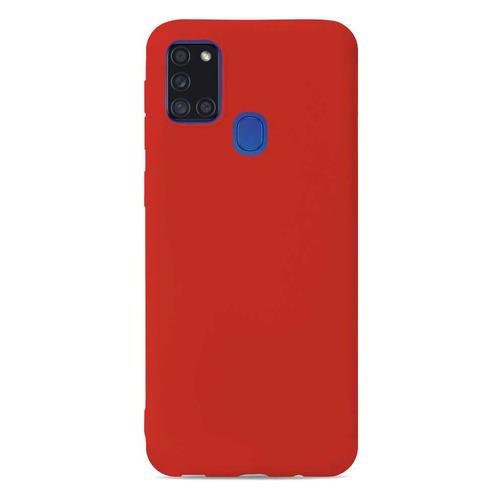 Чехол (клип-кейс) GRESSO Meridian, для Samsung Galaxy A21s, красный [gr17mrn874]  - купить со скидкой