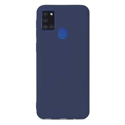 чехол клип кейс gresso meridian для honor 30 30 premium темно синий [gr17mrn865] Чехол (клип-кейс) GRESSO Meridian, для Samsung Galaxy A21s, темно-синий [gr17mrn767]