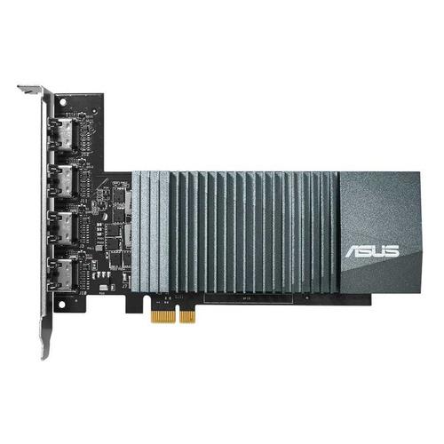 Видеокарта ASUS nVidia GeForce GT 710 , GT710-4H-SL-2GD5, 2ГБ, GDDR5, Ret