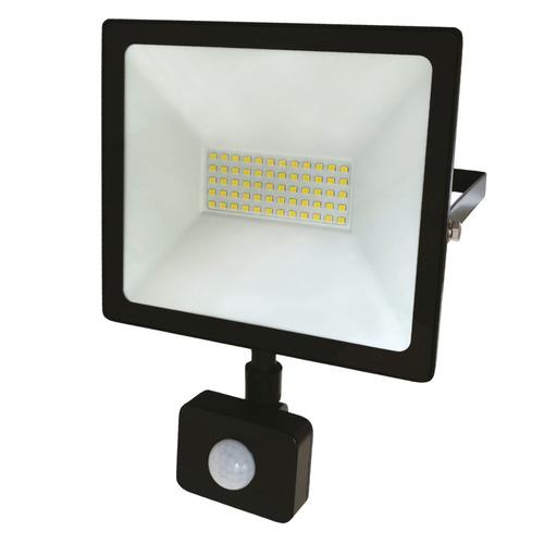 Фото - Прожектор уличный REXANT 605-009, 50Вт, с датчиком движения датчик движения rexant 11 9217