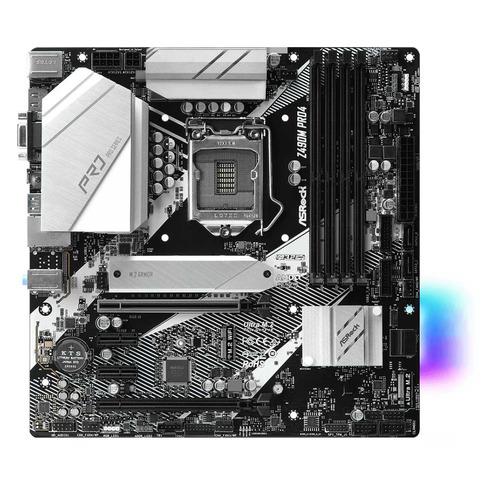 Материнская плата ASROCK Z490M PRO4, LGA 1200, Intel Z490, mATX, Ret цена 2017