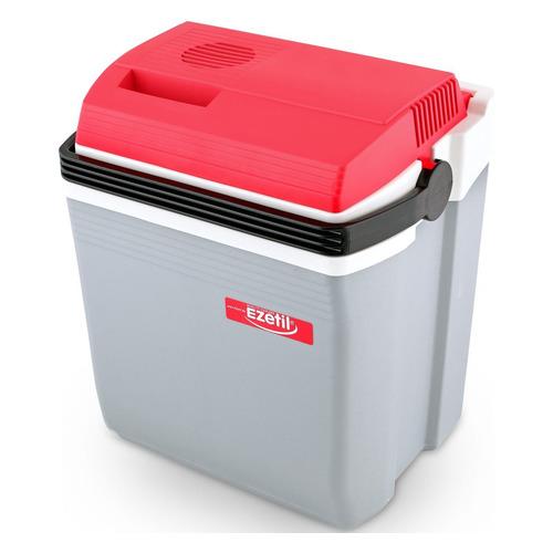 Автохолодильник EZETIL E 21 12/220V, 19.6л, серый и красный автохолодильник ezetil e 40 м 12 230v