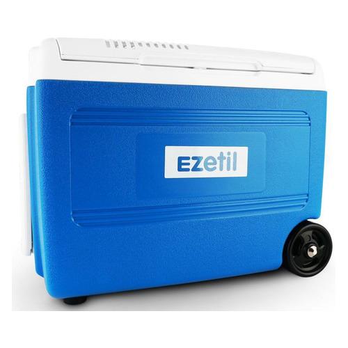 Фото - Автохолодильник EZETIL E 40 М 12/230V, 40л, синий и белый автохолодильник endever voyage 006 30л синий и белый