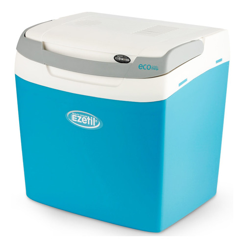 Автохолодильник EZETIL E 26 12/230V EEI Boost, 24л, голубой и белый