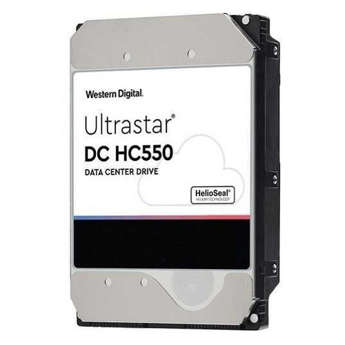 "Жесткий диск WD Ultrastar DC HC550 WUH721816ALE6L4, 16ТБ, HDD, SATA III, 3.5"" [0f38462]"