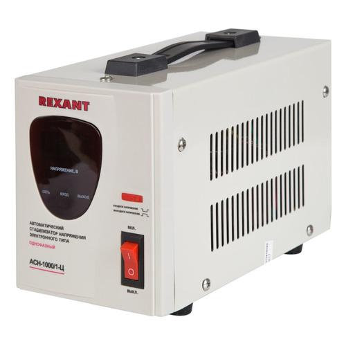 Стабилизатор напряжения REXANT AСН-1 000/1-Ц, серый [11-5001] стабилизатор напряжения rexant aсн 500 1 ц серый [11 5000]