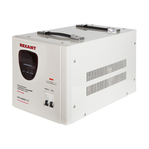 Стабилизатор напряжения REXANT AСН-8 000/1-Ц, серый [11-5006] стабилизатор напряжения rexant aсн 500 1 ц серый [11 5000]
