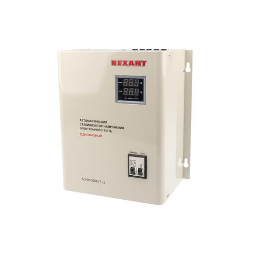 Стабилизатор напряжения REXANT АСНN-5000/1-Ц, серый [11-5013] стабилизатор напряжения rexant aсн 500 1 ц серый [11 5000]
