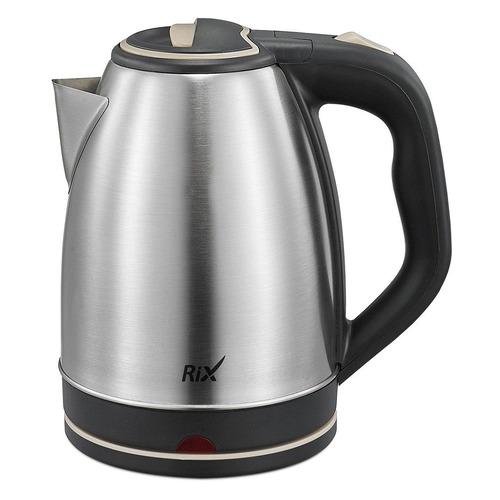 Чайник электрический RIX RKT-1802S, 1500Вт, серебристый и черный