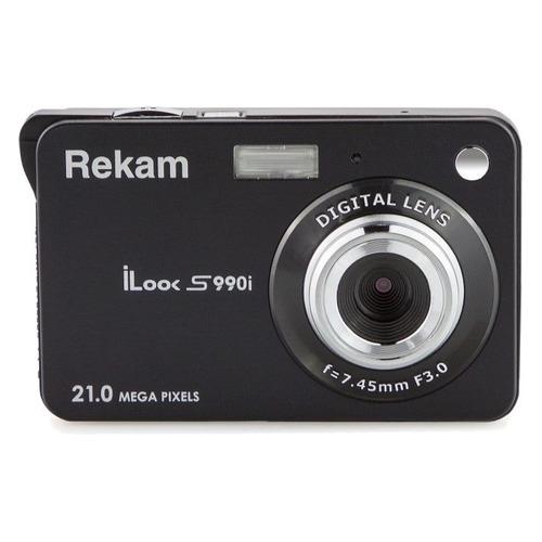 Фото - Цифровой фотоаппарат REKAM iLook S990i, черный 150 мм 15 см 6 электронной цифровой жк сталь штангенциркуль калибр микрометр