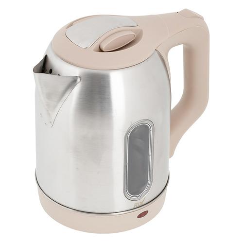 Чайник электрический RIX RKT-1812SW, 1500Вт, серебристый и кремовый сушилка rix rxd 125 белый