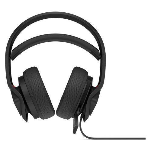 Гарнитура игровая HP OMEN Mindframe2 BLK Headset, для компьютера, накладные, черный / красный [6mf35aa] гарнитура