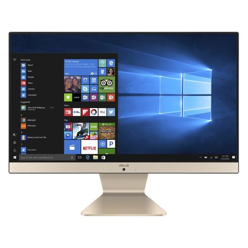 Моноблок ASUS V222GAK-BA126T, 21.5, Intel Pentium Silver J5005, 4ГБ, 500ГБ, Intel UHD Graphics 605, Windows 10 Home, черный [90pt0211-m02810] моноблок hp 22 c0011ur white 4he40ea intel pentium silver j5005 1 5 ghz 8192mb 1tb uhd graphics 605 wi fi bluetooth cam 21 5 1920x1080 dos