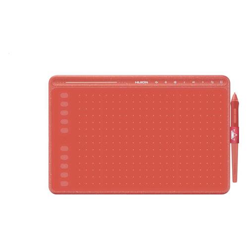 Графический планшет HUION HS611 А4 красный планшет