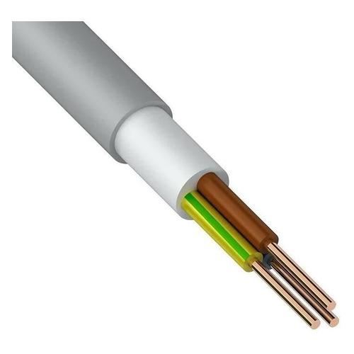 Кабель Rexant NUM-J 3x1.5мм2 5м ГОСТ медь серый (01-8704-5) кабель nym j 3х6 0 5м гост