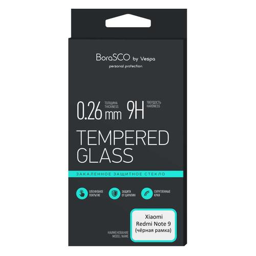 Фото - Защитное стекло для экрана BORASCO для Xiaomi Redmi Note 9, антиблик, 1 шт, черный [38894] защитная пленка для экрана borasco для xiaomi mi note 10 антиблик 3d 1 шт [38279]