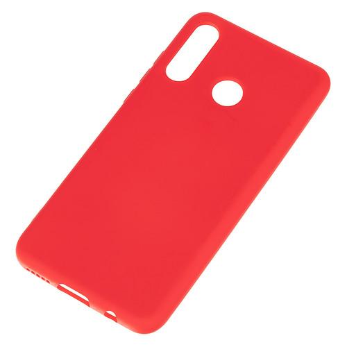 Чехол (клип-кейс) BORASCO Soft Touch, для Huawei P30 Lite/Honor 20s/20 Lite, красный [38479]