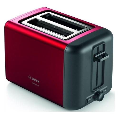 Тостер BOSCH TAT3P424, красный/черный