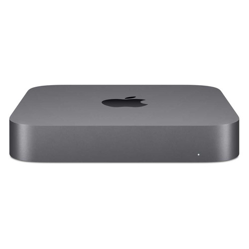 Компьютер APPLE Mac mini Z0ZR000FG, Intel Core i3 8100B, DDR4 16ГБ, 512ГБ(SSD), Intel UHD Graphics 630, macOS, темно-серый компьютер