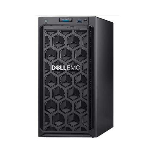 Фото - Сервер Dell PowerEdge T140 1xE-2224 1x8Gb 1RUD x4 1x1Tb 7.2K 3.5 SATA RW H330 iD9Ex 1G 2P 1x365W 3Y сервер dell poweredge r340 1xe 2174g 1x16gbud x8 1x1 2tb 10k 2 5 sas rw h330 id9ex 1g 2p 1x350w 3y