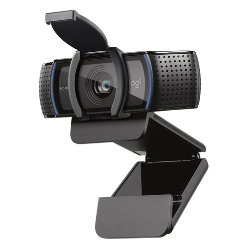 Фото - Web-камера Logitech HD Pro Webcam C920S, черный [960-001252] web камера logitech brio черный оранжевый [960 001106]