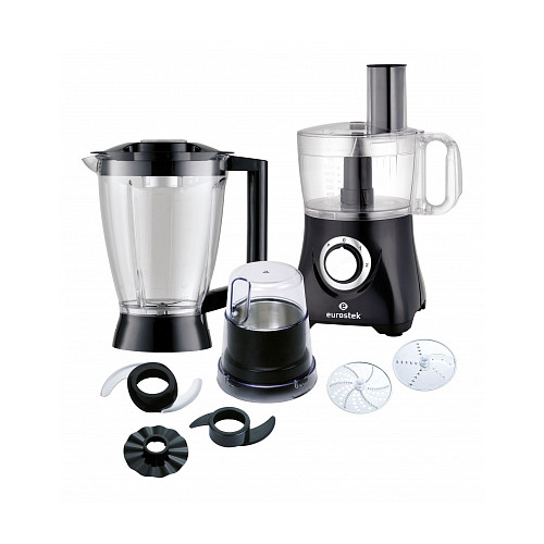 Кухонный комбайн EUROSTEK EFP-2049, черный