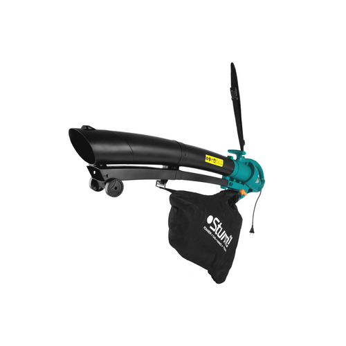 Воздуходувка-пылесос STURM! GBE2250, зеленый
