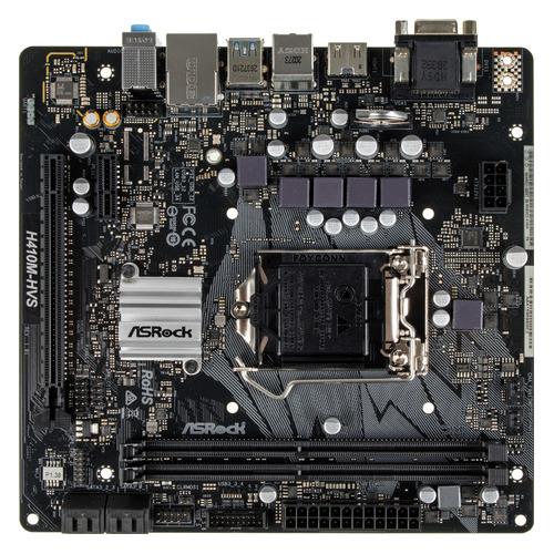 Материнская плата ASROCK H410M-HVS, LGA 1200, Intel H410, mATX, Ret цена 2017