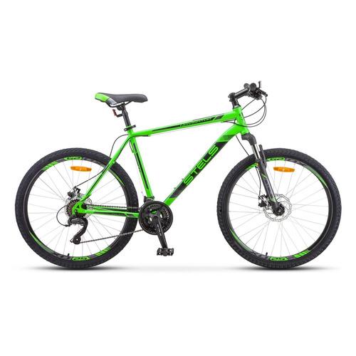 цена на Велосипед Stels Navigator-505 MD горный рам.:18 кол.:26 зеленый 16.7кг (LU081393)